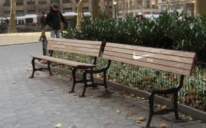 Nike bench PR stunt