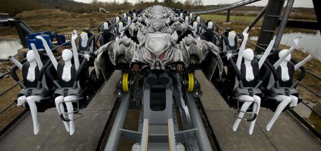 Thorpe Park, The Swarm PR stunt, publicity