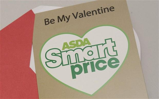 Smartprice Asda Valentine's Day card
