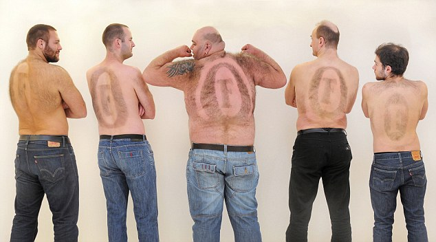 Frank PR photoshoot Fosters hairy backs Fosters waxing