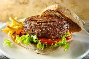 Stem cell burger Heston Blumenthal