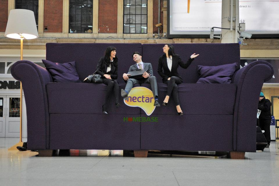 Homebase sofa Nectar points stunt