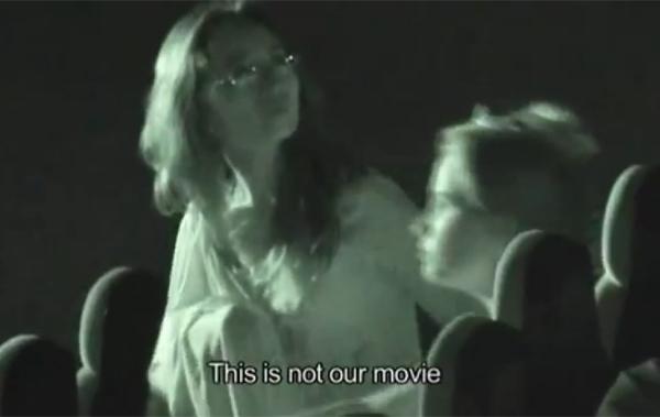 Alzheimer's awareness stunt Israel cinema