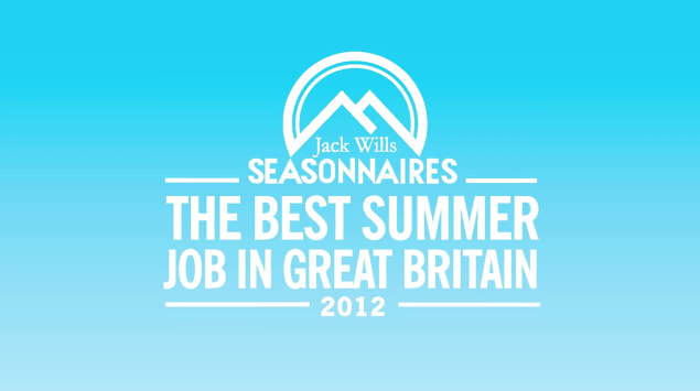 Jack Wills presents 'The best summer job in Great Britain'