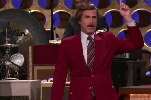 Will Ferrell announces Anchorman sequel as Ron Bergundy