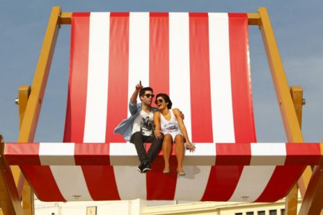 This Coincides Nicely With The Warm Weather Forecast Across Uk Weekend And Giant Deckchair Is Bound To Feature In A Number Of Photo Stories