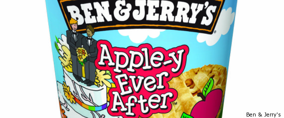 ben and jerry's gay marriage apple-y ever after
