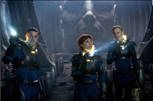 Prometheus trailer aired, uses Twitter to post live reactions