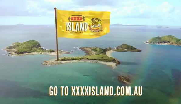 Castlemaine XXXX island PR stunt
