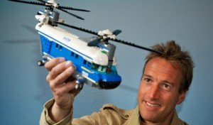 Lego choose Fogle as first ever brand ambassador