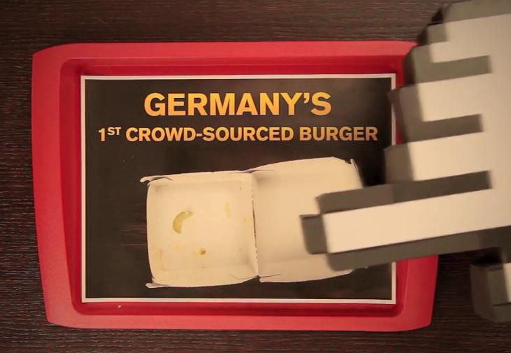 mein burger mcdonald's razorfish
