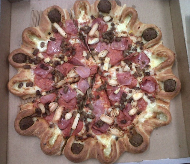 A crown crust fit for a Queen- Pizza Hut send Jubilee-inspired pizzas to journalists