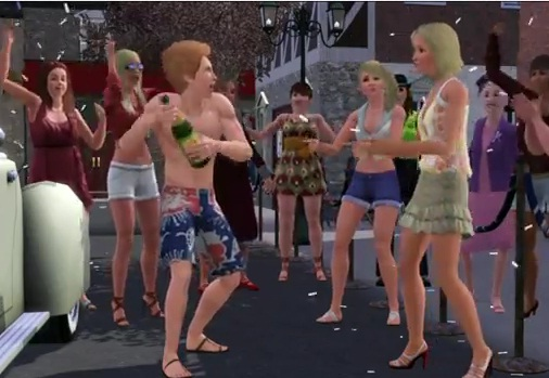 prince harry the sims 3 parody jubilee funny