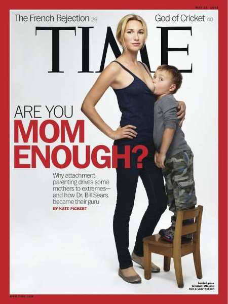 Time Magazine Breastfeeding Cover Captures Social Media's Attention