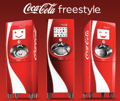 Coke & BK bring 'freestyle' drink machines to the UK – customers can create their own soft drink
