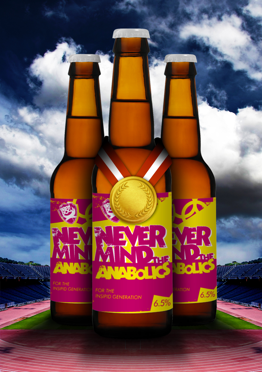 Beer 'containing' steroids launched in hope of undermining Olympic sponsors