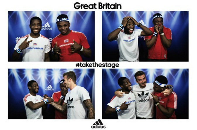 Video of David Beckham surprising photobooth users released