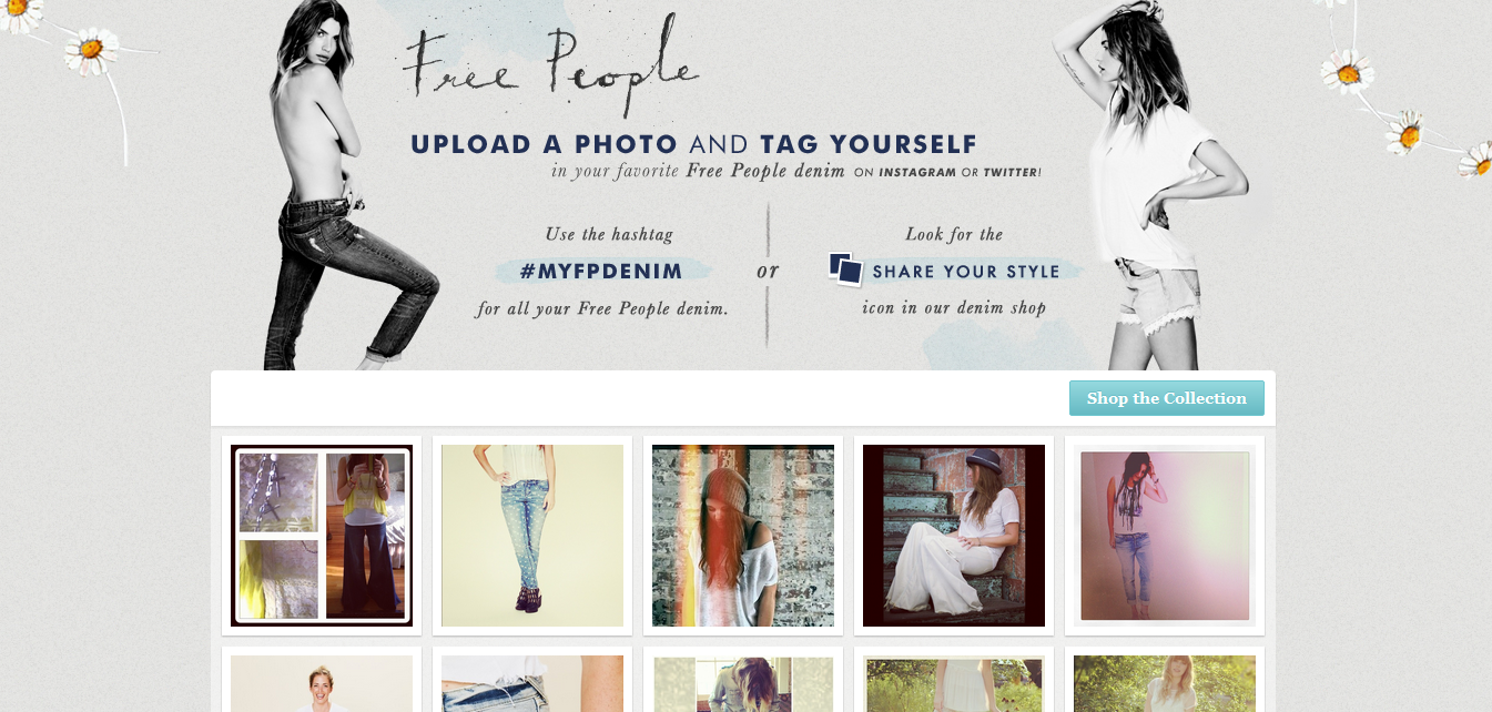 Urban Outfitters integrates Instagram & Twitter onto product pages