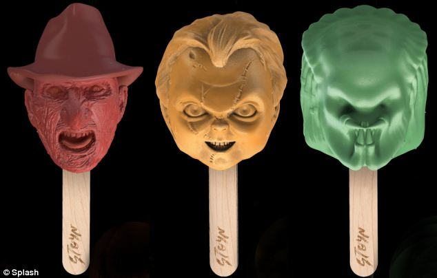 'I scream' featuring famous horror characters released