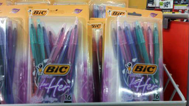 Bic Pens for Ladies