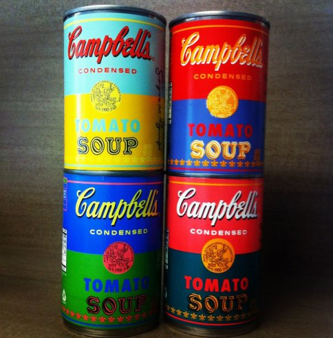 Campbell's Soup launch limited edition cans to celebrate 50th anniversary of Andy Warhol art