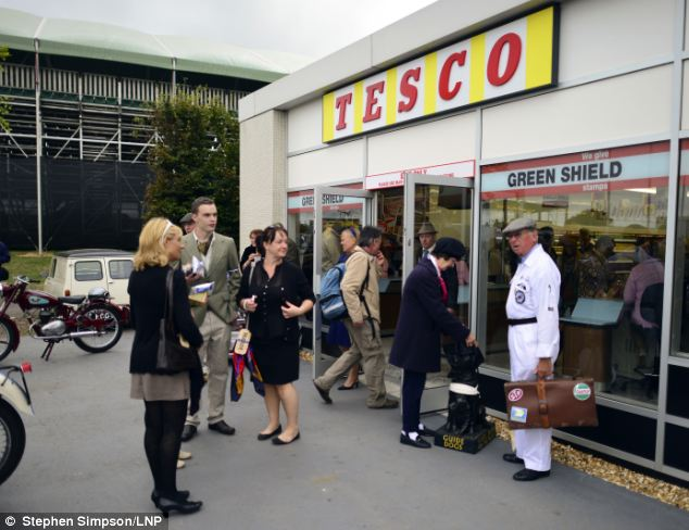 Every Little Helps: Tesco creates 1960s pop-up store