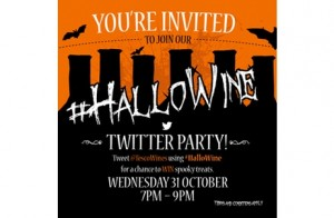 Tesco Wines invites you to a Halloween Twitter party