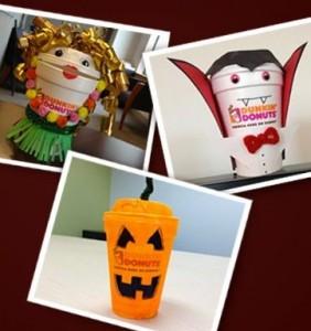 Dunkin' Donuts hooks off Halloween