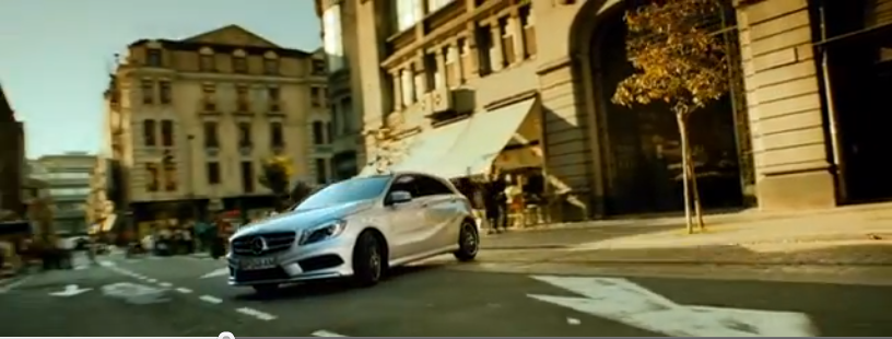 Mercedes-Benz create an interactive advert which users control via Twitter