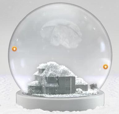 Christmas homelessness campaign rewards donors with 3D Printed snow globe – with their house in it