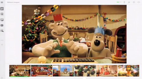 Google+ showcases Hangouts with Wallace and Gromit