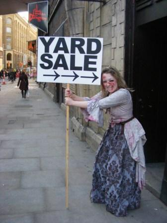 London Dungeons host 'carnage boot sale' this Sunday