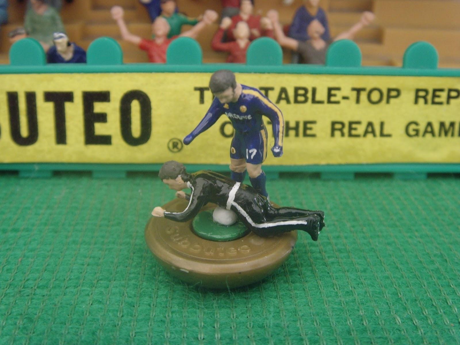 Eden Hazard ballboy incident recreated – as a Subbuteo model!