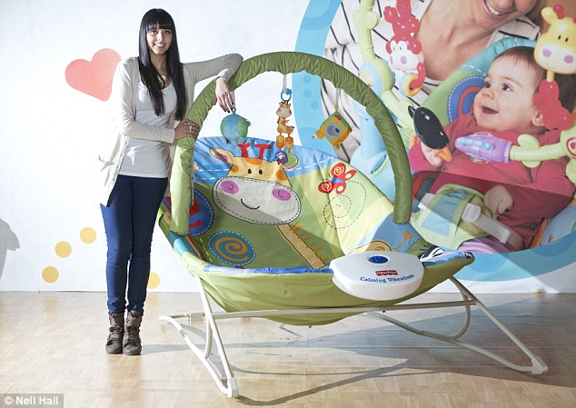 Fisher Price unveil adult-sized baby bouncer in fun PR stunt