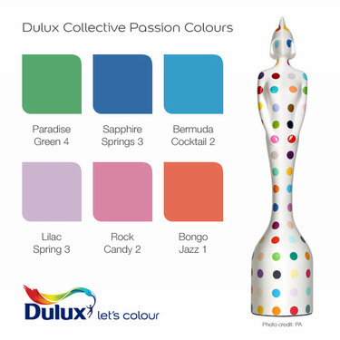 Dulux piggybacks #BRITs2013 with reactive ad