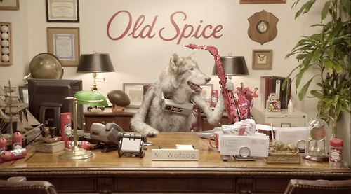 Old Spice Bolsters Marketing team with…Mr Wolfdog