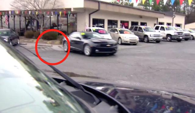 fake camaro pepsi max pr stunt jeff gordon car salesman