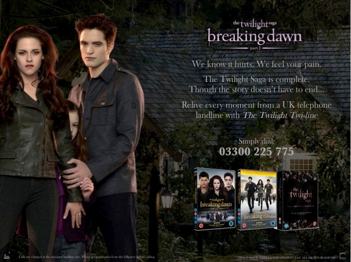 twilight phoneline pr stunt