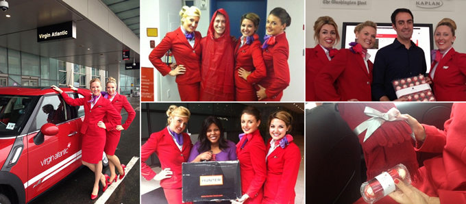 Virgin Atlantic takes to the streets of Boston to surprise its Twitter followers