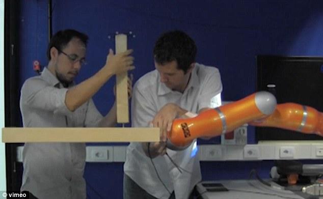 Robot takes on IKEA flat pack furniture