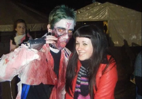 rob and jen dead island zombie wedding competition