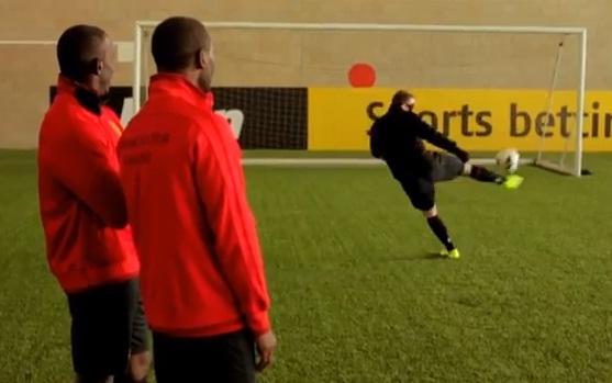 telepathic football pr stunt bwin rooney yorke cole hernandez welbeck