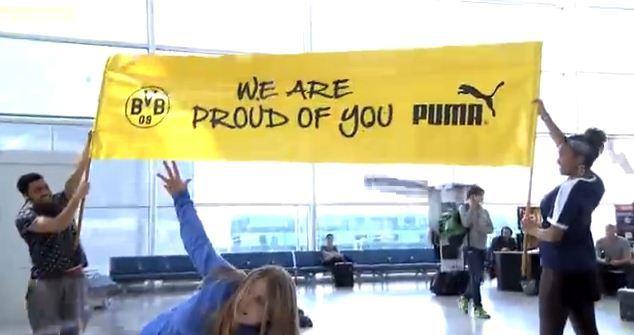 Puma sends flashmob to Champions League losers in reactive stunt
