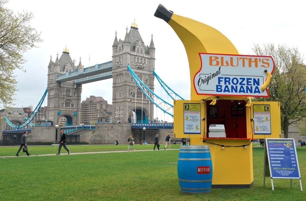bluths frozen banana stand