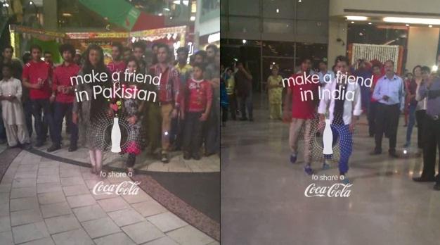 coca-cola pakistan india small world machine