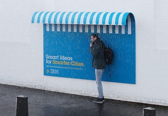 Super cool street furniture billboards ibm pr examples - Furniture advertising ideas ...