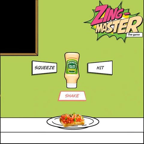 Heinz Salad Cream - 'Zing-Master' Facebook