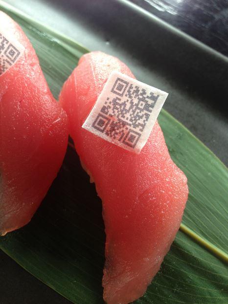 Edible QR Code