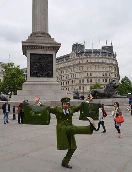 Harrods Green Man