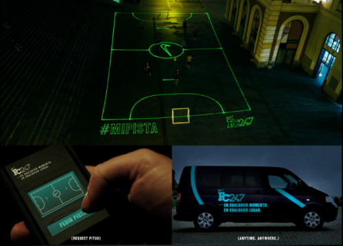 Nike Laser Football Pitch